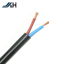 HVCTF PVC Coated PVC Jacket Flexible Power Cords , Electric Wire Cable Roll