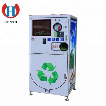 Good Quality Plastic Bottle Recycling Machine Pet bottle / Smart Plastic Bottle Recycling Vending Machine For Sale