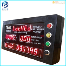 Hot sales GPS based taxi fare meter for warranty
