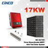 Highrises solar panel system/grid tie solar pv system (240w poly solar panel+inverter+mounting)