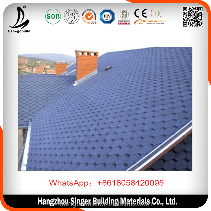 SGS Tested 3 Tab Asphalt Shingles price/Plain Asphalt Shingle price/Fiberglass Shingle price