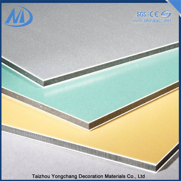 Excellent smoothness aluminum composite panel acm china
