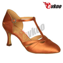 EVKOO brands names shoes high heels closed toe dance shoes women