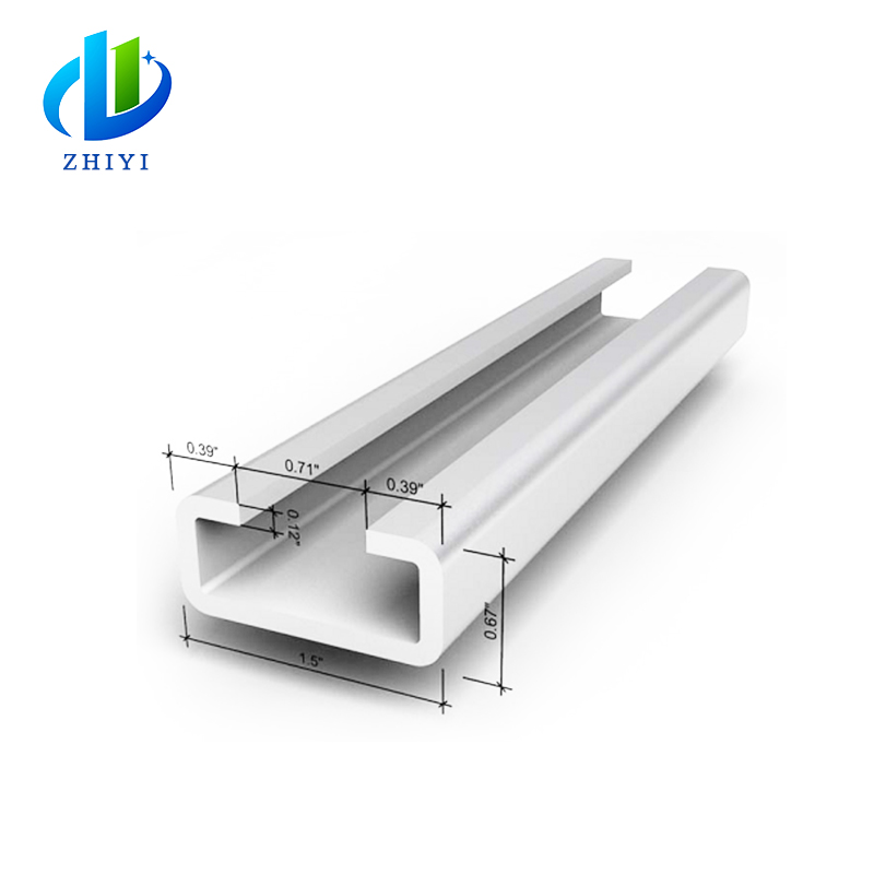 Factory galvanized steel c channel purlin prices