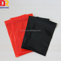 opaque reclosable LDPE ziplock bag ESD