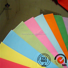 plain 190T PU coated for lining waterproof width 150cm polyester taffeta fabric