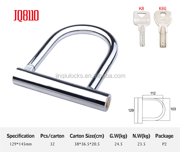 JQ8110 high quality bluetooth bicycle lock motorcycle bike locks that cannot be cut lock