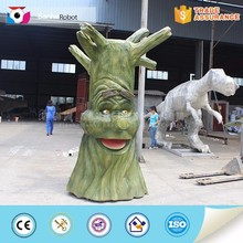 Cartoon talking tree theme park forest decor
