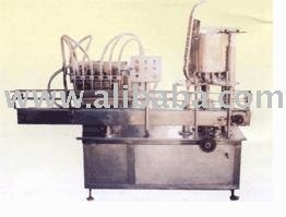 Six Head Automatic Volumetric Filling & Capping Machine