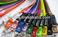 1GB,2GB,4GB,8GB popular true capacity lanyard usb stick, neck strip usb drive, facotry direct prices LFN-300