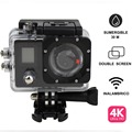 Best quality cheapest price 4k waterproof wifi sports action camera with CE certificate