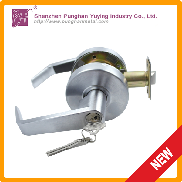Best-selling entry lever lock and single cylinder deadbolt