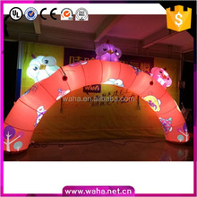 Outdoor animal led light advertising cheap inflatable arch for sale