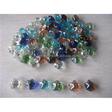 China decoration star shape glass stone gems for vase filler