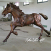 Chinese Style Antique Bronze Horse Sculpture