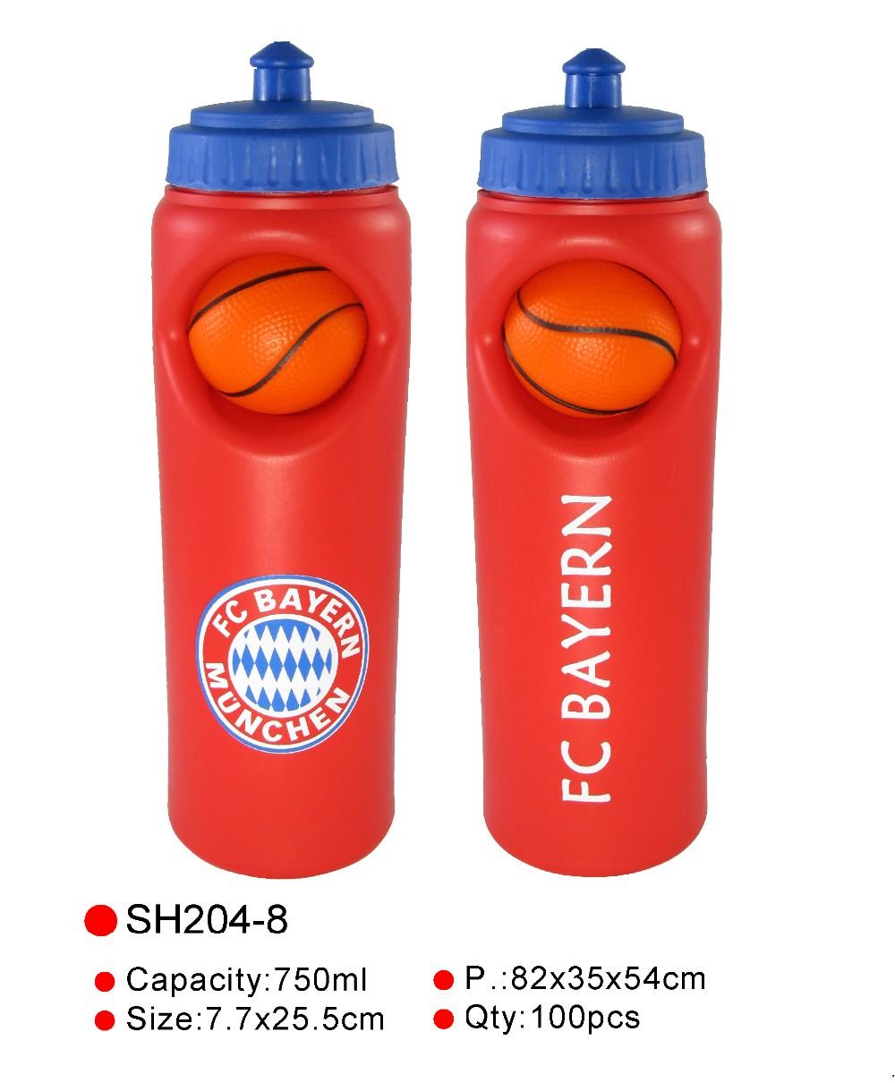 Sports Sipper Bottle: Promotional Basketball Water Bottle,Football Team Sports