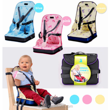 Baby Toddler Booster Seat Travel Dining Feeding High Chair Portable & Foldable Cushions