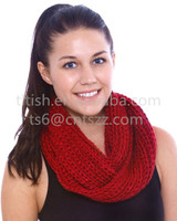 fashion hand knit wool shawl