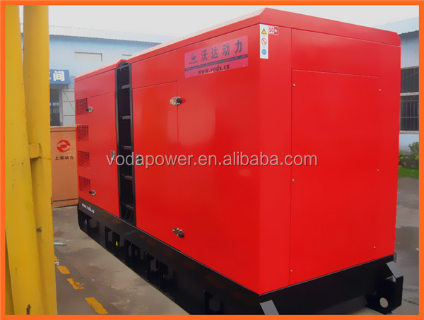 Silent diesel generator 250KVA using Perkins engine