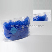 Clear vinyl PVC bikini/garment/cloth pouch bag with zipper