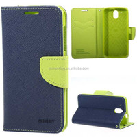 Flip Mercury Fancy Diary Wallet Leather Case Cover for HTC Desire 526 526G