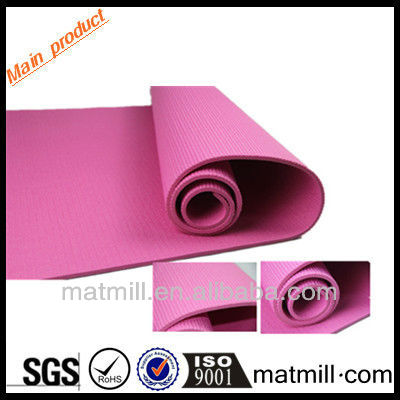 Comfortable non slip yoga mat india new style with 8mm thickness