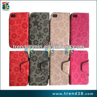 2013 hot selling simple style pu for iphone 5 leather case