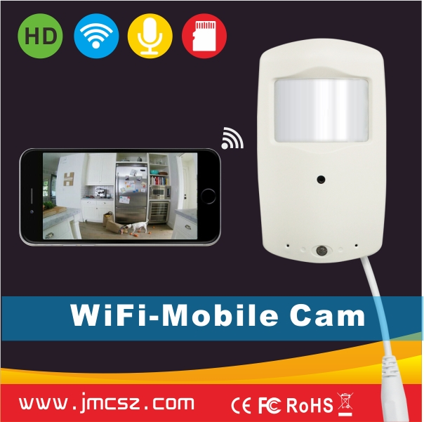 High Quality WiFi Night Vision Motion Detection CCTV <strong>Camera</strong>