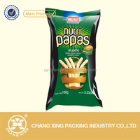 corn tortilla chips packaging poly printed bags