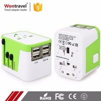 Hot Sell Universal Mini Charger AC DC Travel Adaptor Socket Adapter Female to Male Electrical Plug