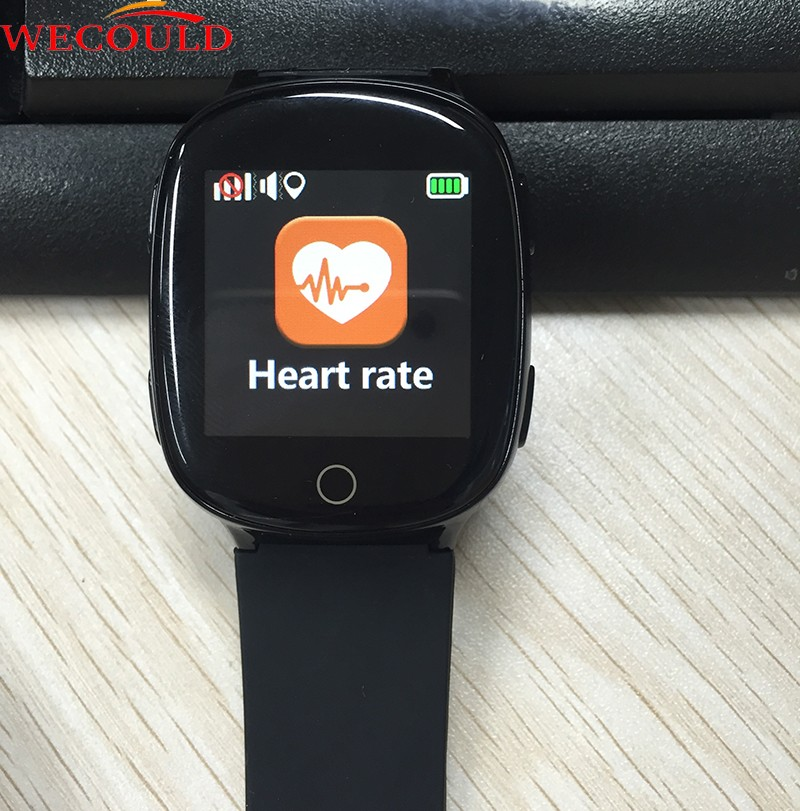 WECOULD High Quality Elderly SOS Smart Watch Phone GPS LBS Wifi Location GPS Heart Rate Monitor Smart Watch for Senior