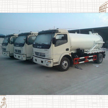 Dongfeng duolika high quality 5-6m3 tank capacity sewer suction truck cheap price