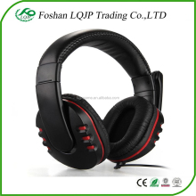 LQJP for PS4 Gaming Headset Wired Chat Gaming usb Headphones Earphone compatible Headset For Sony PS4 headset Black headphone
