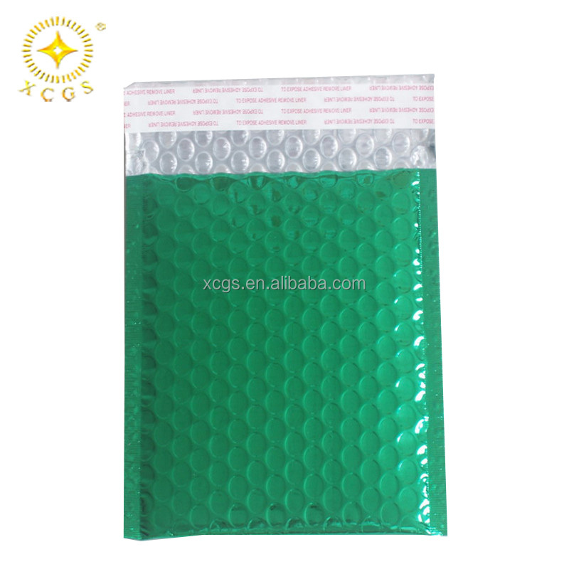 Multicolor Shiny Metallic Bubble Envelope Wholesale /Manufacture Aluminized Foil Bubble Mailing Bags