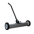 High Quality Portable Manual Magnetic Sweeper With Wheels