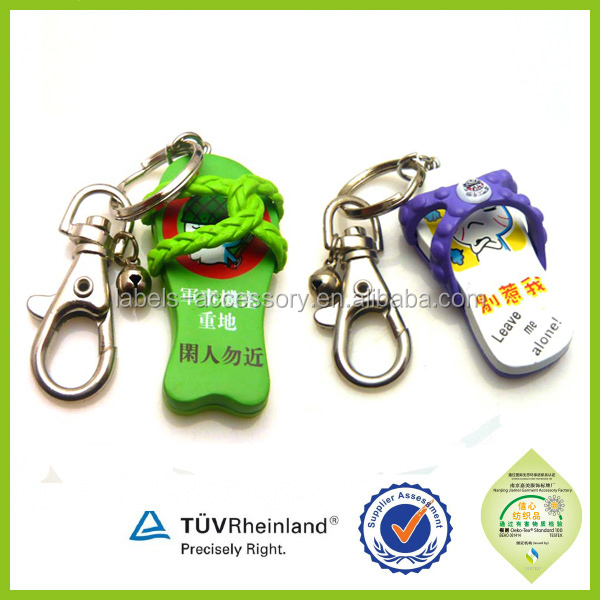 Crazy selling newest design colourful custom sound effect keychain