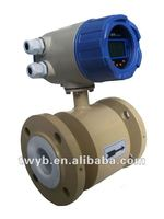 Salt solutions/beer/alcohol/milk/slurry electronic flow meter/water meter