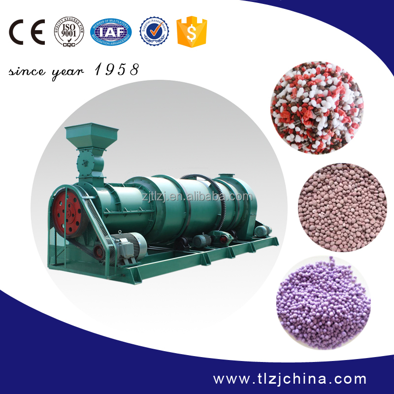High capacity professional compound organic fertilizer granulator machine for sale