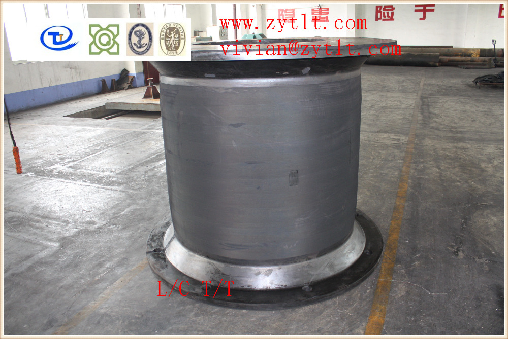 marine ship boat super cell rubber fender for dock