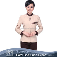 2015 fashion High quality Customized best modern hotel bell boy uniform