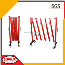 7615 Strong and Lightweight Portable Metal Road Barrier