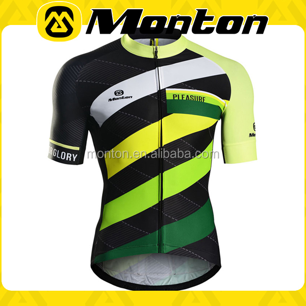 2016 wholesale hot-selling short sleeve sports jersey new model bicycle wear cycling clothing