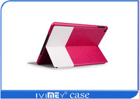 stand Smart Cover Leather tablet pc case for Ipad air2/Ipad 6