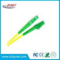 singlemode and multimode 12 cores LC APC bundle fiber optic cable pigtails