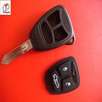 Top sale 3 button remote key case for Dodge and CHRYSLER Jeep