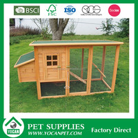 Chinese fir newest style wooden chicken cage