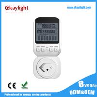 Smart electric meter advanced digital electric / power / energy meter sockets plug