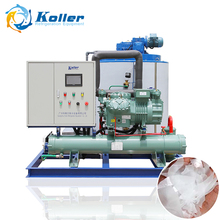 Koller Commercial Fishery Used 10 Tons Flake Ice Machine Hot Sale Water Cooled Big Ice Maker