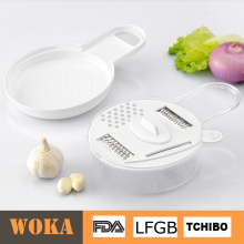 hot selling plastic Round salad maker vegetable slicer
