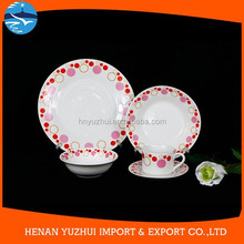 Top quality best sell porcelain opal ware dinner set